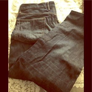 Gap Relaxed Fit Men's Dark Rinse Jeans Size 36x32